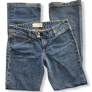 Paper Denim & Cloth Low Rise Freighter Flare Jeans